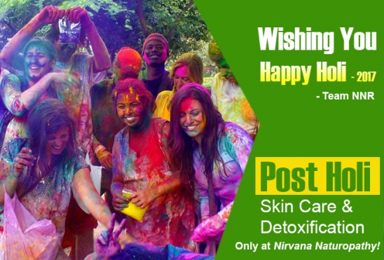 Post Holi Skin Care & Detoxification Only at Nirvana Naturopathy!