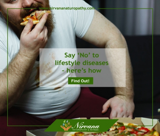 Say 'No' to lifestyle diseases – here's how