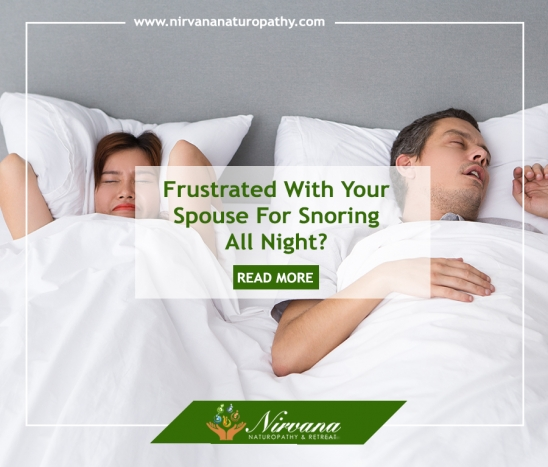 Frustrated With Your Spouse For Snoring All Night? Here's Natural Remedies to Put a Stop to That!