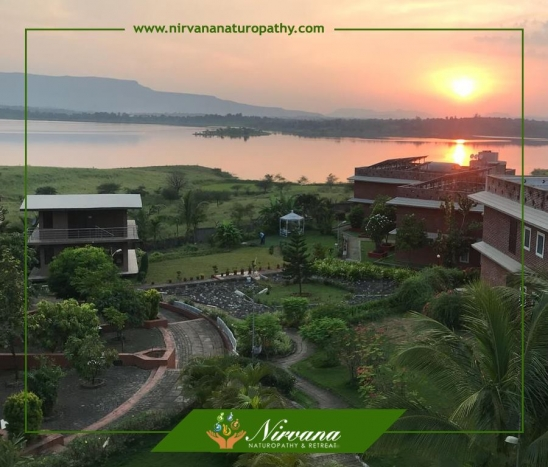 Sunrise Worth Waking Up Early For at Nirvana Naturopathy & Retreat