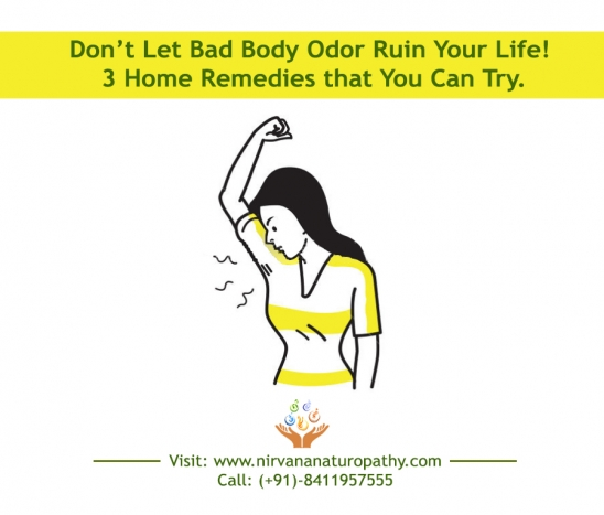 Don't Let Bad Body Odor Ruin Your Life! Here are 3 Home Remedies that You Can Try.