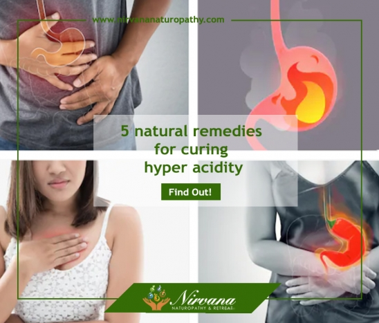 5 natural remedies for curing hyper acidity