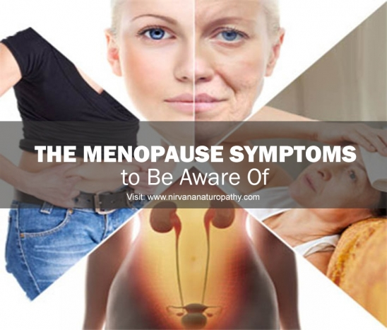 How does naturopathy help in relieving menopause symptoms?